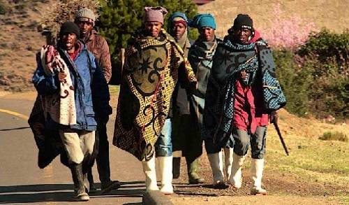 Traditsionnoye odeyalo Lesoto